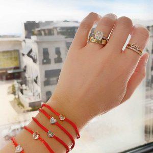 MORE Love Bracelets on wrist
