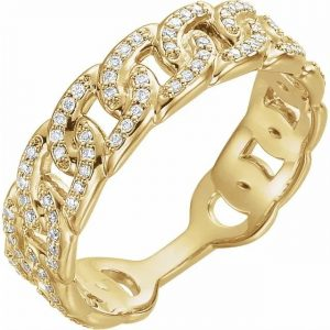 Stackable Chain Link Ring