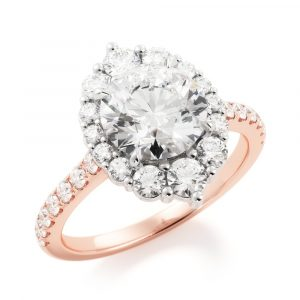 Fancy Love Engagement Ring