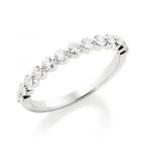 share the love diamond band white gold