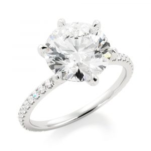 Classic Love Engagement Ring