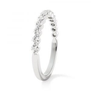 share the love diamond band white gold