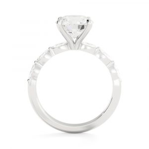 Written in the Clouds Engagement Ring