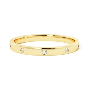 Adorned with Diamonds Band