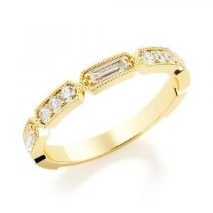 Crown Diamond Band