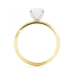 Barely There Diamond Engagement Ring