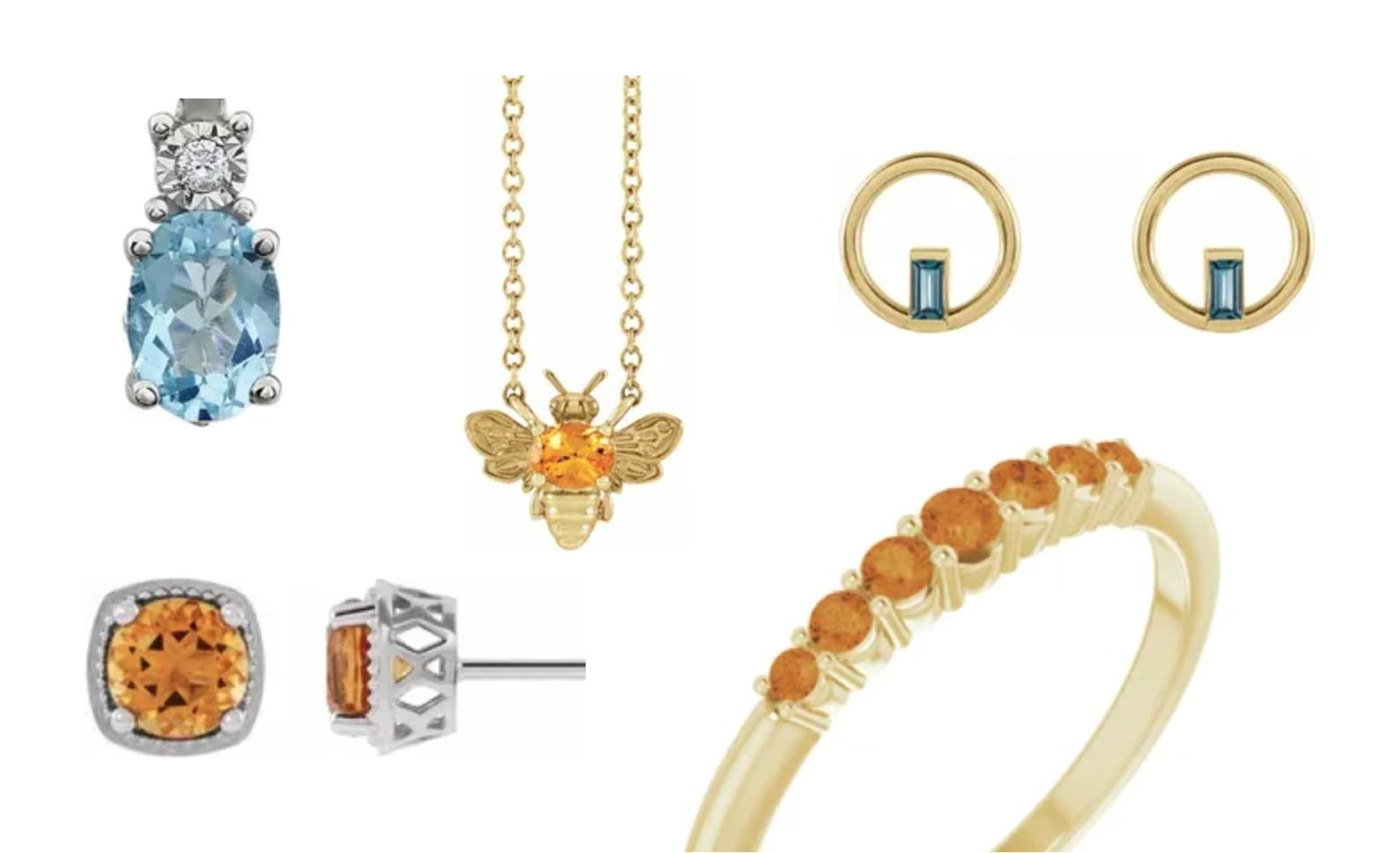 The Deeper Meanings of November's Birthstones: Citrine & Topaz