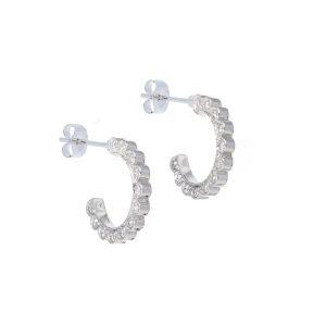 Cascade Diamond Stud Earrings
