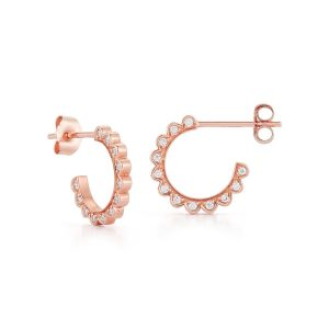 Cascade Diamond Stud Earrings