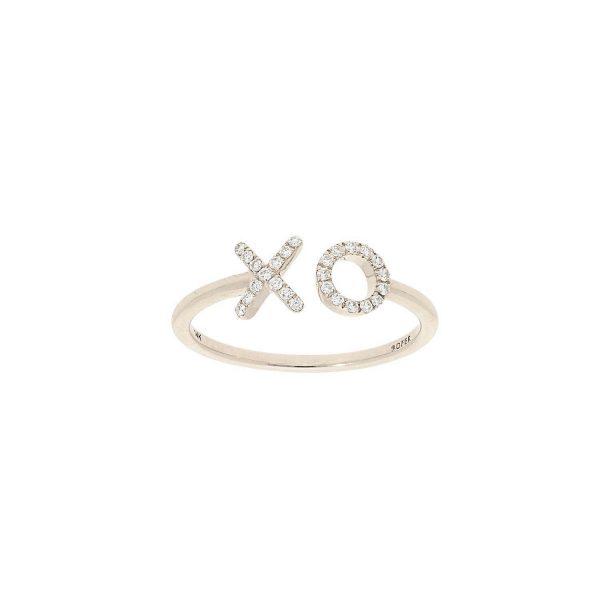 X O Diamond Ring