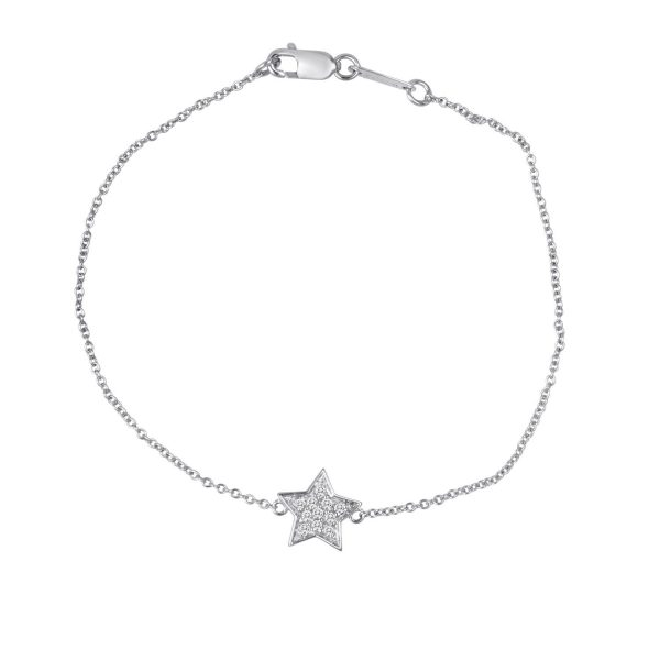 white gold baby you're a start necklace aerial view
