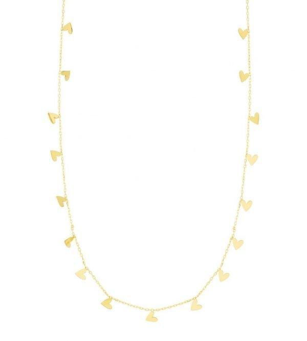 Dainty Hearts Necklace