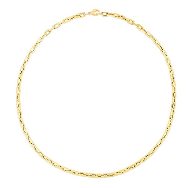 Italian Paperclip Necklace