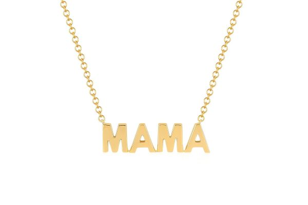 Mini Gold Mama Necklace